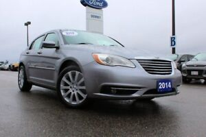 2014 Chrysler 200 Touring LOCAL TRADE-SERVICE AND READY FOR YOUR