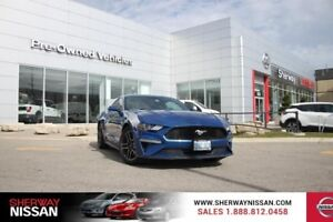 2018 Ford Mustang,accident free ecoboost coupe,leather,navi,grou