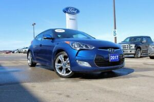 2017 Hyundai Veloster  TECH PACKAGE---LTHR---ALL THE GEAR TO GEA