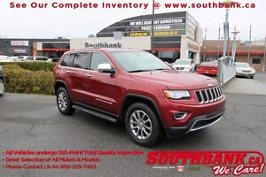2015 Jeep Grand Cherokee LimitedHeated/Vented Front Seats, Rear