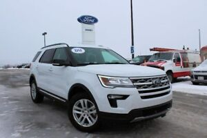 2018 Ford Explorer XLT 202A PACKAGE---WITH GLASS ROOF--LEATHER--