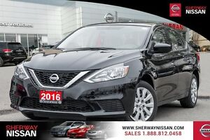 2016 Nissan Sentra, only 77km
