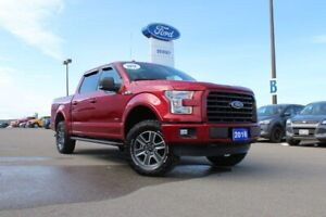2016 Ford F-150 XLT 301A---SPORT WITH LEVELING KIT AND BF GOODRI