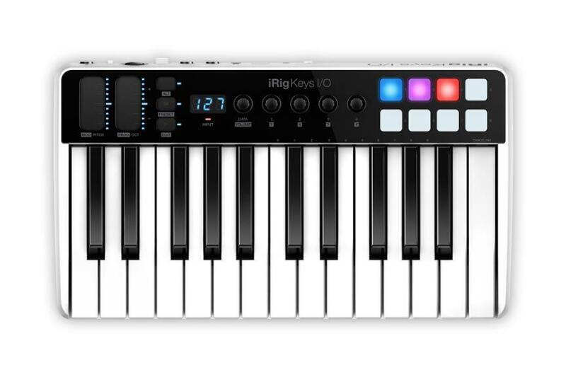 IK Multimedia: iRig Keys I/O 25 Keyboard    Keyboard Controller IKIRIGKEYSIO25