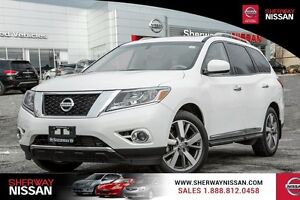2014 Nissan Pathfinder 4WD 4dr Platinum. Spring clearout sale ,