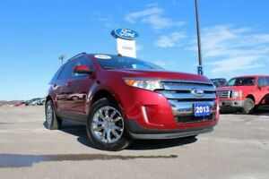 2013 Ford Edge SEL TRAILER TOW PACKAGE---ALL WHEEL DRIVE---RUBY