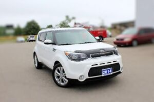 2014 Kia Soul EX+LOW KMS 2.0L FUEL EFFICIENT
