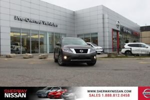2015 Nissan Pathfinder,one owner trade with only 63500kms,priced
