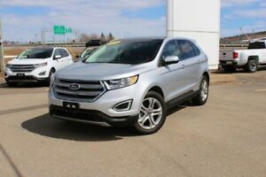 2017 Ford Edge Titanium TITANIUM TWIN PANEL ROOF! 8900KMS! WOW!!