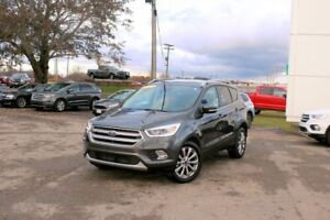 2017 Ford Escape TitaniumPARKING PKG!! PAN ROOF!! LOW KMS!!! W@W