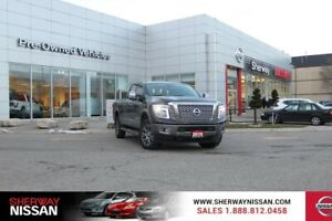 2016 Nissan Titan XD Platinum,clean carproof,fully loaded. Price