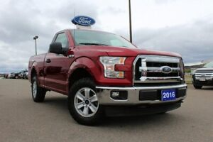 2016 Ford F-150 XLTREGULAR CAB, 4X4, V8