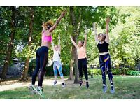 Free Dance Fitness & Hiit Class Park Popup- StrongHer Shakes into Spring- Burn off 400KCALS