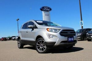 2018 Ford EcoSport Titanium NEWEST SUV IN FORD FAMILY...AND SAVE