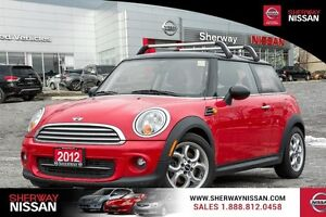 2012 MINI Cooper Hardtop 2dr Cpe Classic reduced to clear $11995