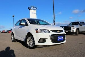 2017 Chevrolet Sonic LT/FWD/ 1.8L ENG/ HEATED FRT SEATS/