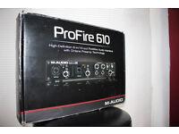 Audio / Midi Interface M-Audio ProFire 610 firewire