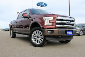 2016 Ford F-150 Lariat4WD SUPERCREW LARIAT 501A
