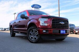2016 Ford F-150 XLTSUPERCREW, XLT SPRT PKG, LOW KMS!!!!!