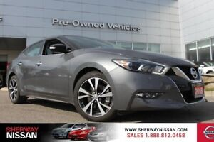 2018 Nissan Maxima sv, one owner trade. Nissan certified preowne
