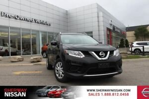 2015 Nissan Rogue S fwd,one owner accident free trade,only 32000