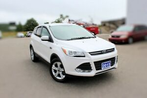 2015 Ford Escape SE4WD 1.6L ECOBOOST LOW KMS!