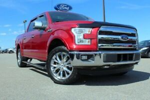 2015 Ford F-150 LariatSUPERCREW, TWIN PANEL MOONROOF, 502A
