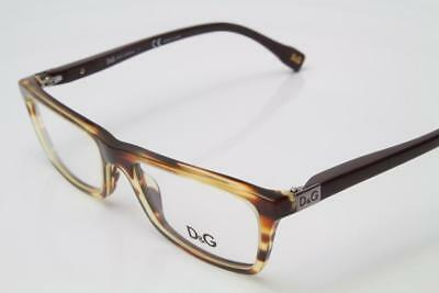 D&G By Dolce & Gabbana DG 1215 Eyeglasses Havana Brown 1880 Authentic 50mm By Dolce & Gabbana Eyeglasses