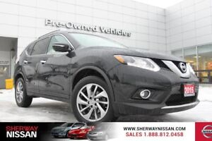 2015 Nissan Rogue SL AWD,one owner accident free trade.Certified