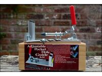 Adjustable pocket hole guide kit