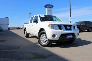 2018 Nissan Frontier SV CREW SV 4X4---PEOPLE AND CARGO MOVER--AF