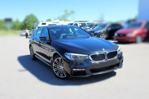 2018 BMW 5 Series 530i xDrive/AWD/ LEATHER/ PUSH START/