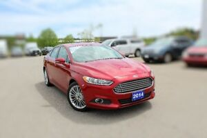 2014 Ford Fusion SELOW KMS LUX PKG HTD SEATS MOONROOF