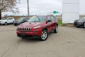 2016 Jeep Cherokee Sport4WD WITH ONLY 17745KMS!!? WOW!! RARE!!