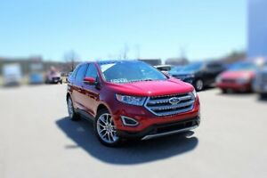 2017 Ford Edge TitaniumPANO ROOF FRONT CAM HTD REAR SEATS
