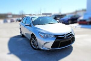 2017 Toyota Camry SEHEATED SEATS BACKUP CAMERA PARTIAL LEATHER S