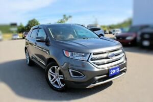 2015 Ford Edge TitaniumLOW KMS AWD PANO ROOF