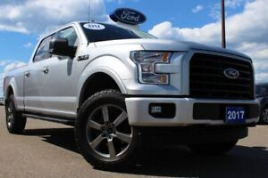 2017 Ford F-150 XLT 302A WITH LONG BOX! V8---LOADED LOCAL AND RE