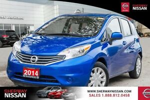 2014 Nissan Versa Note, only 11842 kms, single owner accident fr
