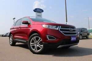 2016 Ford Edge TitaniumAWD WITH HEATED SEATS AND LOW KMS