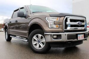 2015 Ford F-150 XLT/4X4/ 3.5L V6 ENGINE/ SUPERCREW/