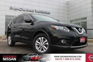 2015 Nissan Rogue SV awd,only 61279 kms. Nissan certified preown