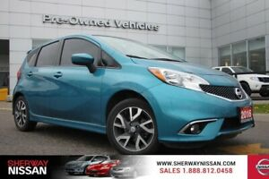 2016 Nissan Versa Note SR.One owner accident free trade>Nissan c