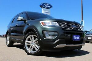 2016 Ford Explorer Limited4WD WITH DUAL PANEL MOONROOF!