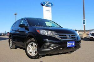 2014 Honda CR-V LX/2WD/ 2.4L ENGINE/ HEATED FRT SEATS/