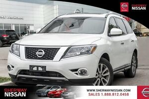 2015 Nissan Pathfinder SL tech,one owner accident free trade!