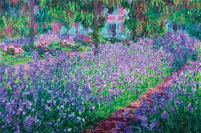 MONET - GARDEN AT GIVERNY - FINE ART PRINT POSTER 13x19 - 36413X