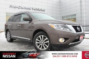 2015 Nissan Pathfinder SL AWD,one owner accident free trade