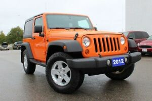 2012 Jeep Wrangler SportA MUST SEE 4WD 2DR SPORTY JEEP!!!