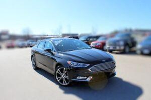 2017 Ford Fusion Titanium AWD 2.0L 6 SPEED AUTO-TRANS